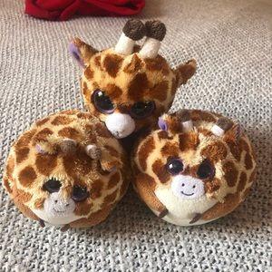 TY Giraffe Stuffed Animals